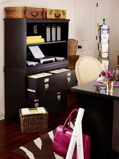Easy Office Filing & Great Storage Ideas