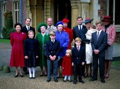 Princes Harry of Wales Tumblr:  Christmas 1990-l-r Princess Margaret, Prince Edward, Zara Phillips, The Queen Mother, The Duke of Edinburgh, Prince William, The Queen, Princess Anne, Princess Beatrice, Prince Harry, Prince Andrew, The Duchess of York holding Princess Beatrice, Peter Phillips, The Princess of Wales