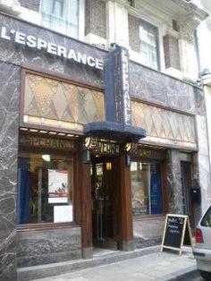 Cafe Bar, Art Nouveau, Art Deco, Heart Art, Brussels, Facade, Europe, Easy Meals, Facades