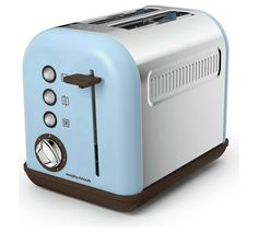 Buy Morphy Richards 222003 Accents 2 Slice Toaster - Azure at Argos. Small Kitchen Appliances, Argos, Toasters, Home And Garden, Stuff To Buy, Cooker, Shop, House, Home