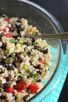 Rice and Black Bean Salad | Good Cheap Eats