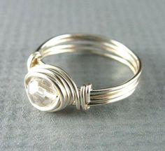 Above the Knuckle Ring Or Child's Ring Wire ♥ by PolymerPlayin, $13.00