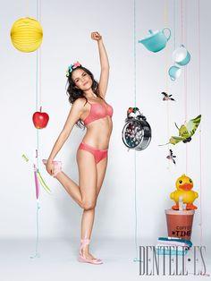 Sloggi Frühjahr/Sommer 2012 - Dessous - http://de.dentell.es/fashion/lingerie-12/basics-homewear/sloggi-2858