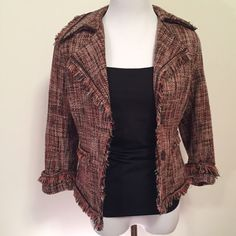Perfect for fall Great for dressing up any outfit. Like new. No trades, please. New York & Company Jackets & Coats Blazers