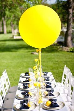 "36/"" Jumbo Helium Grade Latex BalloonsPastel Yellow10 pc"