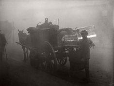 Лондон. Поставщик льда, 1 октября 1919 года