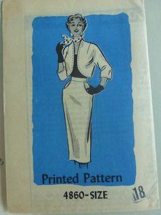 Vintage Anne Adams Mail Order Pattern 4860 by VintagePatternDrawer, $10.95