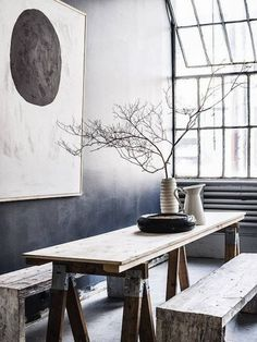 home inspiration: BLACK & TIMBER - bellaMUMMA