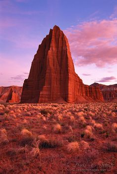 ✯ Temple of the Sun, Temple of the Moon, Cathedral Valley, Utah, USA travel