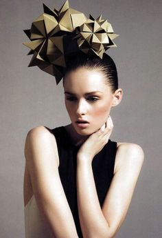 Fascinator from Billy Kidd and House of Architects Millinery