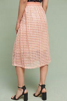 Slide View: 5: Graphique Midi Skirt