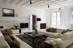 apartment in the gothic quarter of barcelona by ylab arquitectos room decorating ideasdecorating living