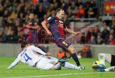 Iniesta, FC Barcelona | BARÇA, 3 - ZARAGOZA, 1. >El Maestro< 17.11.12.