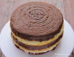 Tort cu crema de ciocolata - Desert De Casa - Maria Popa Something Sweet, Caramel, Pancakes, Cookies, Breakfast, Party, Desserts, Sticky Toffee, Crack Crackers