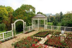 white garden fencing