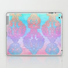The Ups and Downs of Rainbow Doodles Laptop & iPad Skin by micklyn - $25.00