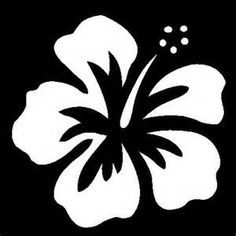 """Hibiscus Flower Stencil 5""""x5"""" hibiscus flower stencil. stencil can be ..."""
