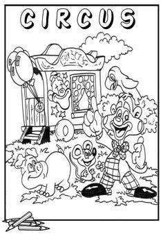 Kleurplaten Van Circus.37 Beste Afbeeldingen Van Circus Kleurplaten Clowns Coloring