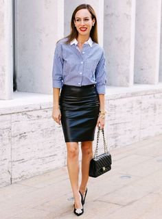 Please check out my Archive. Business Casual Outfits, Classy Outfits, Sexy Outfits, Pencil Skirt Work, Pencil Skirt Black, Runway Fashion, Girl Fashion, Womens Fashion, Fashion Ideas