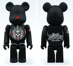 David Flores and Geoff Rowley 3 Inch Bearbrick - $24.99 - Atomic Empire