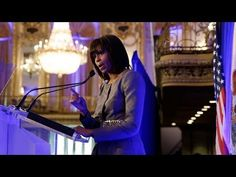 The First Lady addresses a joint luncheon meeting in Chicago hosted by Mayor Rahm Emanuel that included members of Chicago's leading civic organizations. Mrs. Obama urges Chicago¹s business leaders to invest in expanded opportunities for youth across Chicago¹s neighborhood