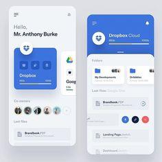 Storages Management - App by Vlad Ermakov for Widelab App Widget, Ios App, Flat Web Design, App Ui Design, Design Design, Interface Web, Interface Design, Web Design Mobile, Design Responsive
