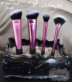 Review Comparison: Real Techniques Sculpting Set vs Sculpting Brush