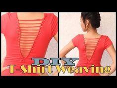 T-shirt Restyling Idea - DIY No Sew - AllDayChic