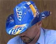 how to make beer box cowboy hat - Bing Images. I am so making one of these!!!!
