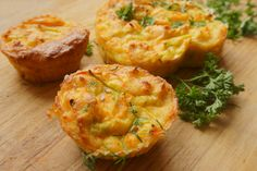 Květákové muffiny