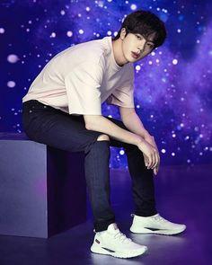 Jin BTS photoshoot for Fila Collection Bts Jin, Jimin, Seokjin, K Pop, Hyung, Worldwide Handsome, Bts Boys, Korean Boy Bands, Korean Singer