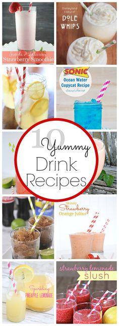 10 Homemade Drink Recipes