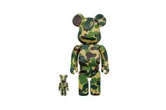 BAPE & Medicom Toy Release Limited BE@RBRICKs in 1ST CAMO