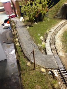 n scale model railroad
