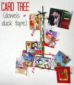 organize cards tree