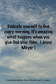 joyce meyer quotes | Joyce Meyer | Sticky Notes And Quotes