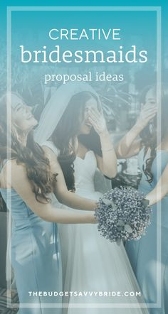 Creative Bridesmaids Proposal Ideas - How to ask your bridesmaids! How to pop the question to your bridesmaids Bridesmaid Proposal, Bridesmaid Gifts, How To Ask Your Bridesmaids, Proposal Ideas, Besties, Pop, Bridal, Creative, Party