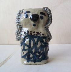 "Ceramic sculpture ""Koala"" by Jenni Tuominen."