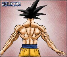 Goku Back Muscle By Dbzwarrior Deviantart Com On Deviantart