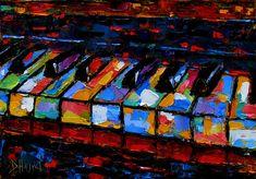 Keyboard by Deborah Hurd