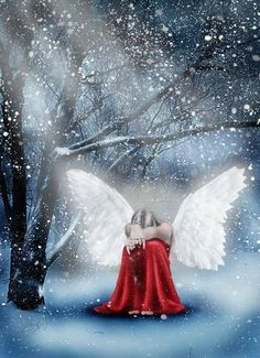 Angels are symbolic of messages from the Divine, and what better time of year than Christmas to open up our channels of understanding to allow for Pristine communication. Description from lightforcenetwork.com. I searched for this on bing.com/images