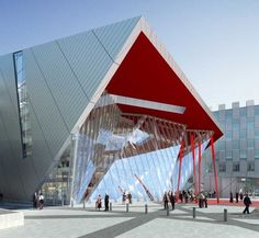 Grand Canal Square Dublin By Daniel Libeskind