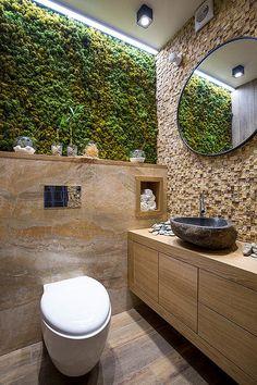 Bathroom eco-design with small vertical gardens - # Check more at bade. Bathroom eco-design with small vertical gardens - # Check more at bade. Bathroom Plants, Bathroom Wall Decor, Bathroom Interior Design, Bathroom Ideas, Bathroom Designs, Bathroom Small, Bathroom Remodeling, Bathroom Layout, Master Bathroom