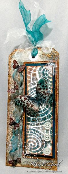 Passionate Paper Creations: Stampendous and Dreamweaver Stencils Blog Hop