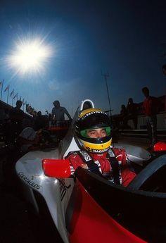 Ayrton Senna 1990 on www.in2motorsports.com
