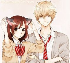 Wolf Girl & Black Prince{💌} Ookami Shoujo To Kuro Ouji Anime Wolf, Manga Anime, Fanart Manga, Me Anime, Kawaii Anime, Anime Yugioh, Anime Pokemon, Wolf Girl, Manga Love