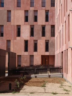 social housing - david chipperfield - Madrid - spain