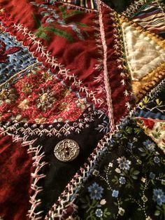 Crazy Quilt Embellishments   Embellishments