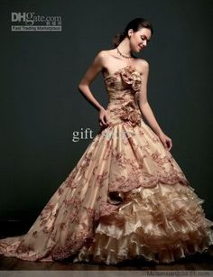 Wholesale - Sexy Quinceanera Masquerade Party Wedding Evening Dress Ball Prom Gown Custom, Free shipping, $190.91/Piece | DHgate