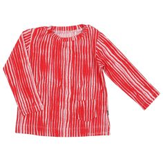 Zebra Red Tunic by Imps And Elfs